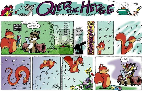 Over the Hedge on Sunday September 8, 2019 Comic Strip