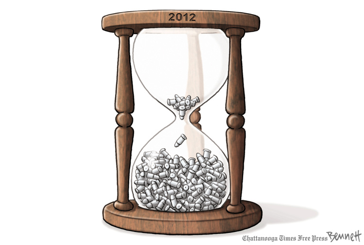 Clay Bennett for Dec 27, 2012 Comic Strip