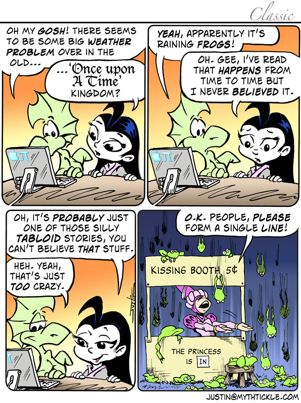 MythTickle Comic Strip for March 13, 2019