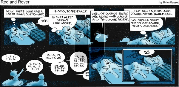 Red and Rover - Sunday July 19, 2020 Comic Strip