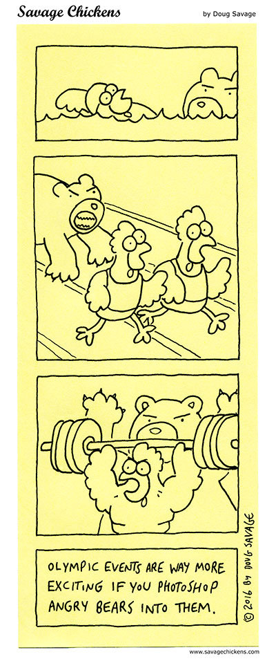 Savage Chickens Comic Strip for August 10, 2020