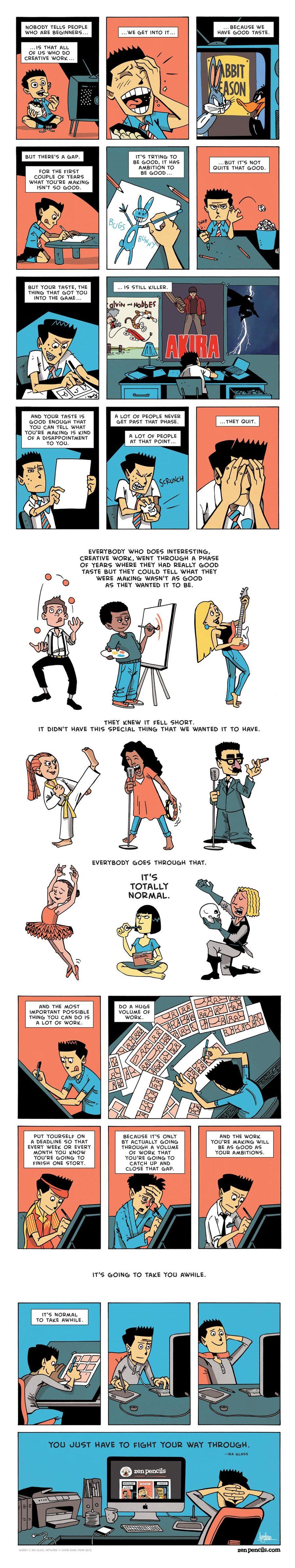 Zen Pencils Comic Strip for January 24, 2014