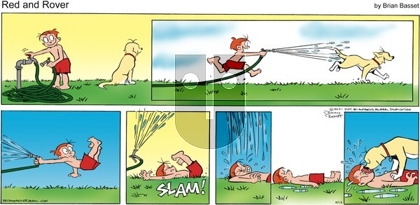 Red and Rover on Sunday August 15, 2021 Comic Strip