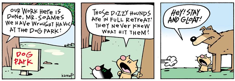 Ten Cats for Apr 27, 2013 Comic Strip