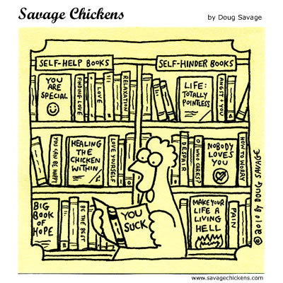 Savage Chickens Comic Strip for September 29, 2014