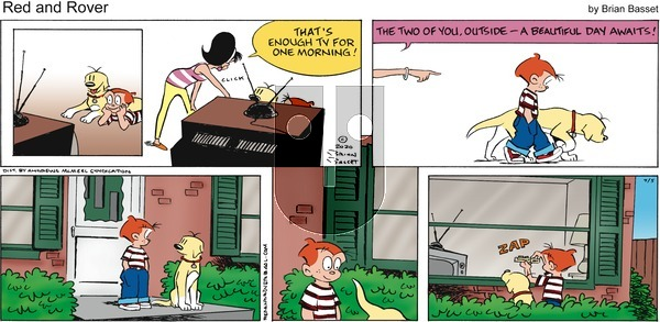 Red and Rover - Sunday July 5, 2020 Comic Strip