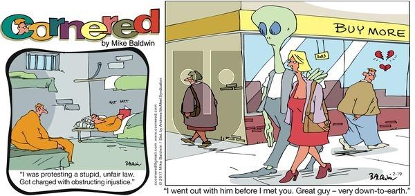 Cornered on Sunday February 19, 2017 Comic Strip