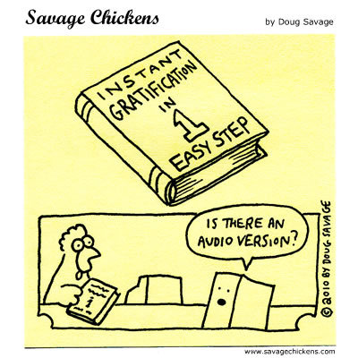 Savage Chickens Comic Strip for September 30, 2014
