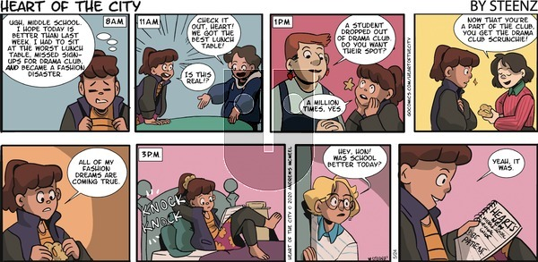 Heart of the City on Sunday May 24, 2020 Comic Strip