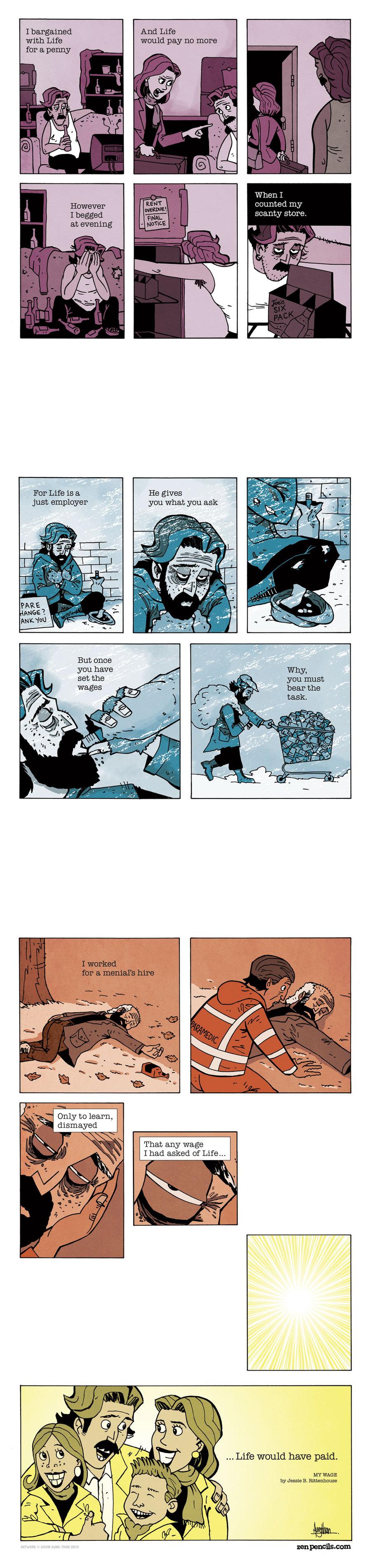 Zen Pencils Comic Strip for November 16, 2015