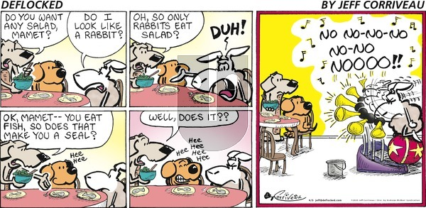 DeFlocked on Sunday April 5, 2020 Comic Strip