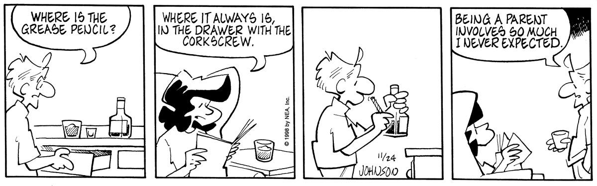 Arlo and Janis for Nov 24, 1998 Comic Strip