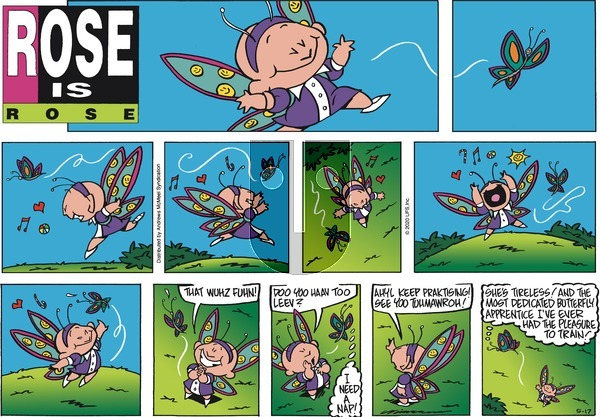 Rose is Rose - Sunday May 17, 2020 Comic Strip