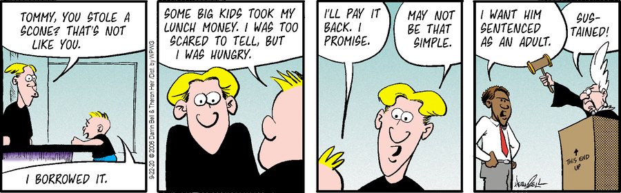 Rudy Park Comic Strip for September 22, 2020