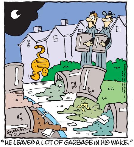 Heathcliff for Jul 31, 2012 Comic Strip