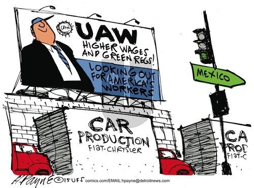 Henry Payne on Sunday September 20, 2015 Comic Strip