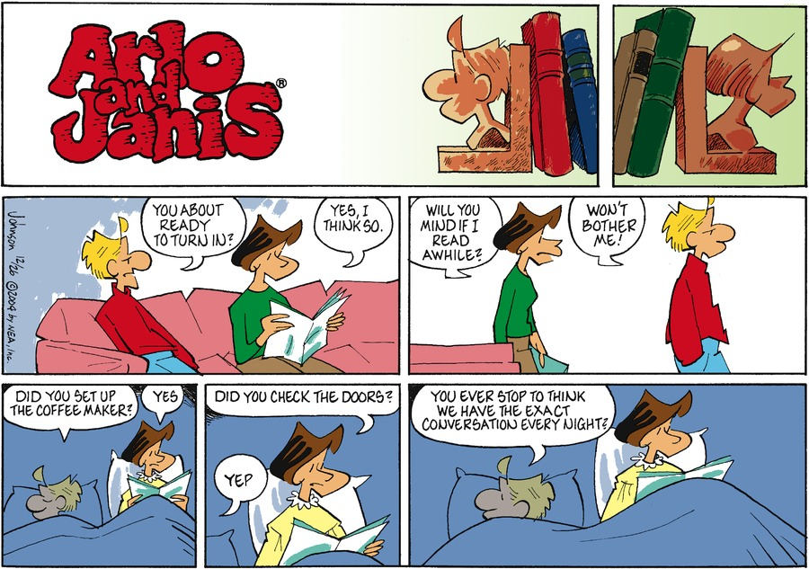 Arlo and Janis for Dec 26, 2004 Comic Strip