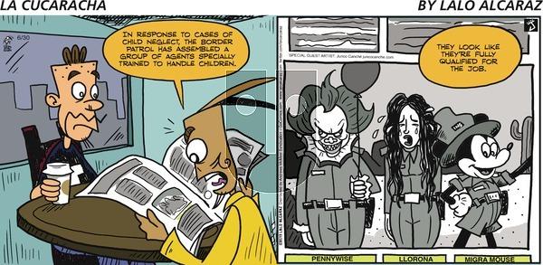 La Cucaracha on Sunday June 30, 2019 Comic Strip