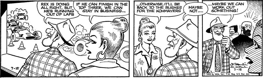 Alley Oop Comic Strip for July 15, 1970