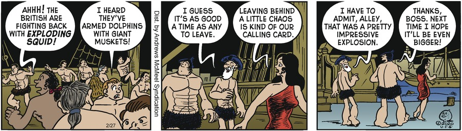 Alley Oop Comic Strip for February 27, 2020