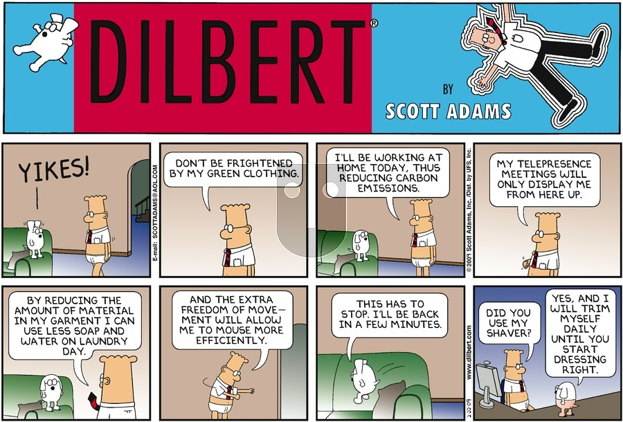 Purchase Comic Strip for 2009-02-22
