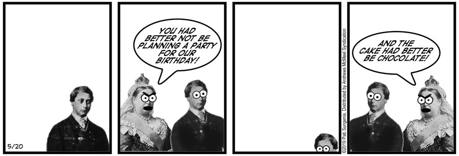 New Adventures of Queen Victoria Comic Strip for May 20, 2019