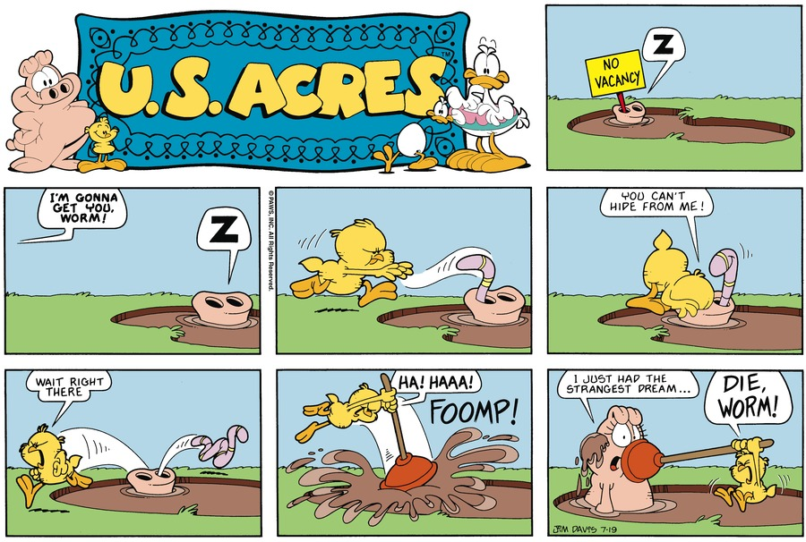 U.S. Acres Comic Strip for January 16, 2000