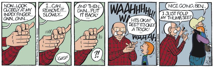 Ben Comic Strip for January 08, 2021