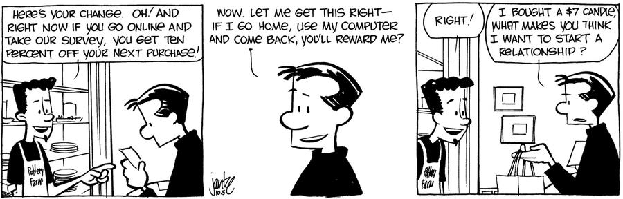 The Norm Classics Comic Strip for November 14, 2019