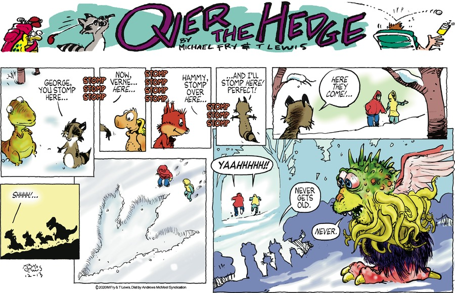 Over the Hedge Comic Strip for December 13, 2020