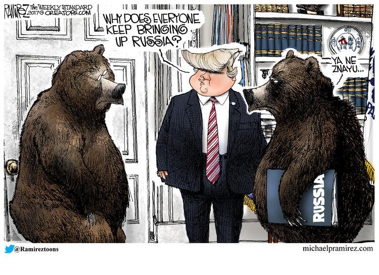Michael Ramirez Comic Strip for May 22, 2017