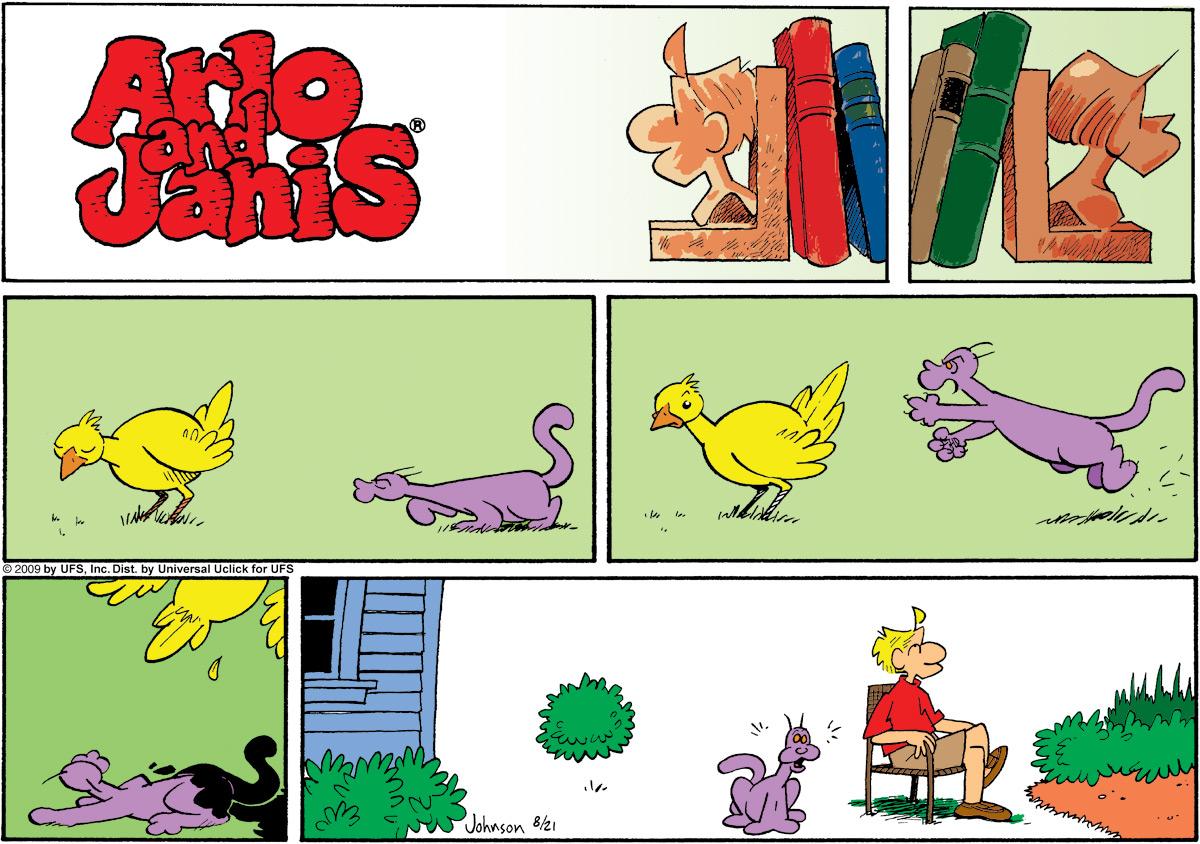Arlo and Janis for Aug 21, 2011 Comic Strip