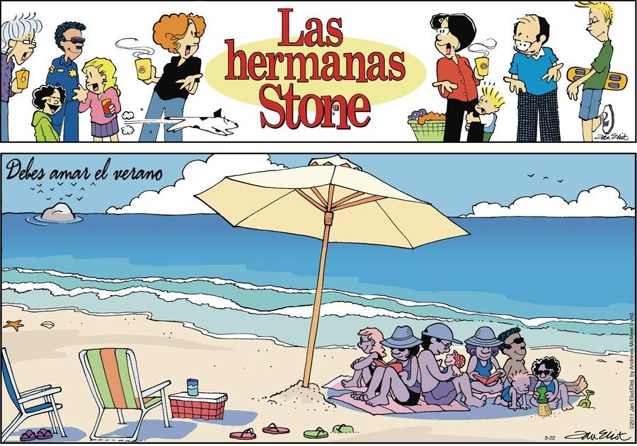 Las Hermanas Stone by Jan Eliot on Sun, 22 Aug 2021