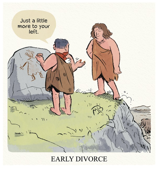Caveman divorce