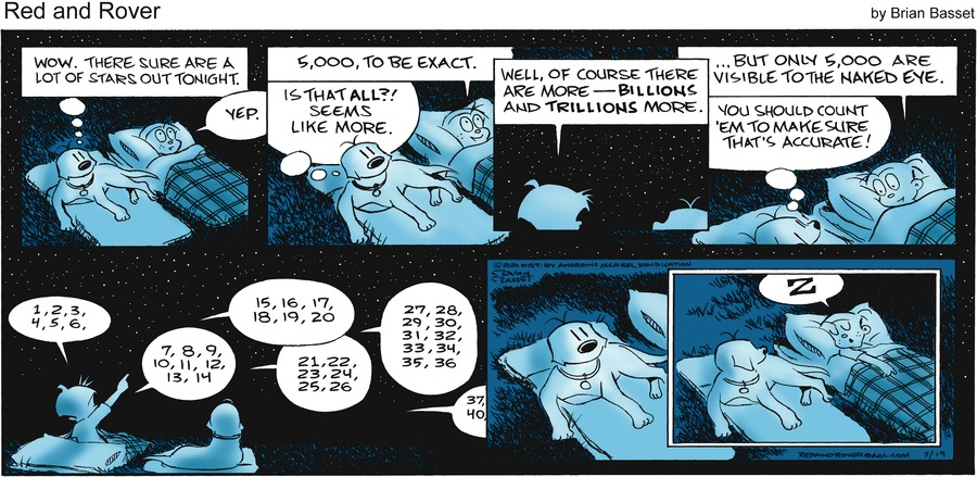 Red and Rover Comic Strip for July 19, 2020