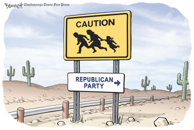 Clay Bennett for Apr 23, 2013 Comic Strip