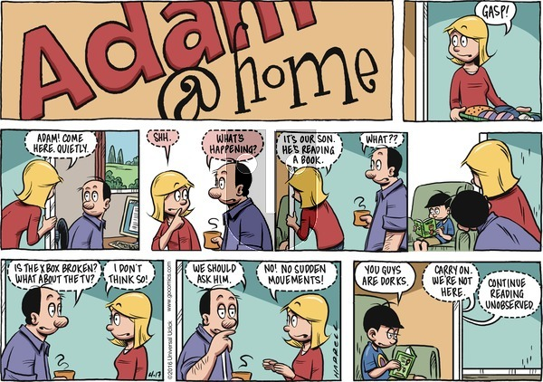 Adam@Home on Sunday April 17, 2016 Comic Strip