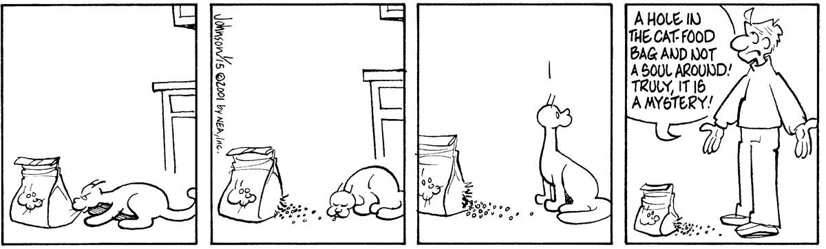 Arlo and Janis for Jan 15, 2001 Comic Strip