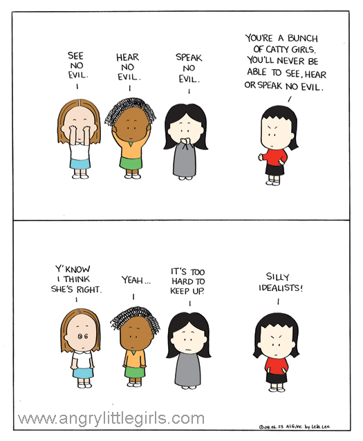 Angry Little Girls for Sep 30, 2013 Comic Strip