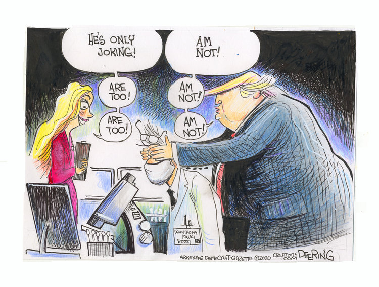 John Deering Comic Strip for June 24, 2020