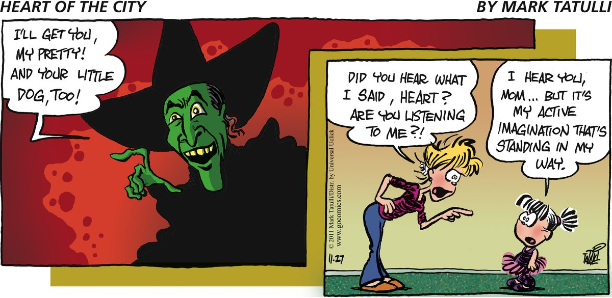 Heart of the City for Nov 27, 2011 Comic Strip