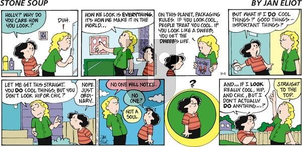 Stone Soup - Sunday September 6, 2020 Comic Strip
