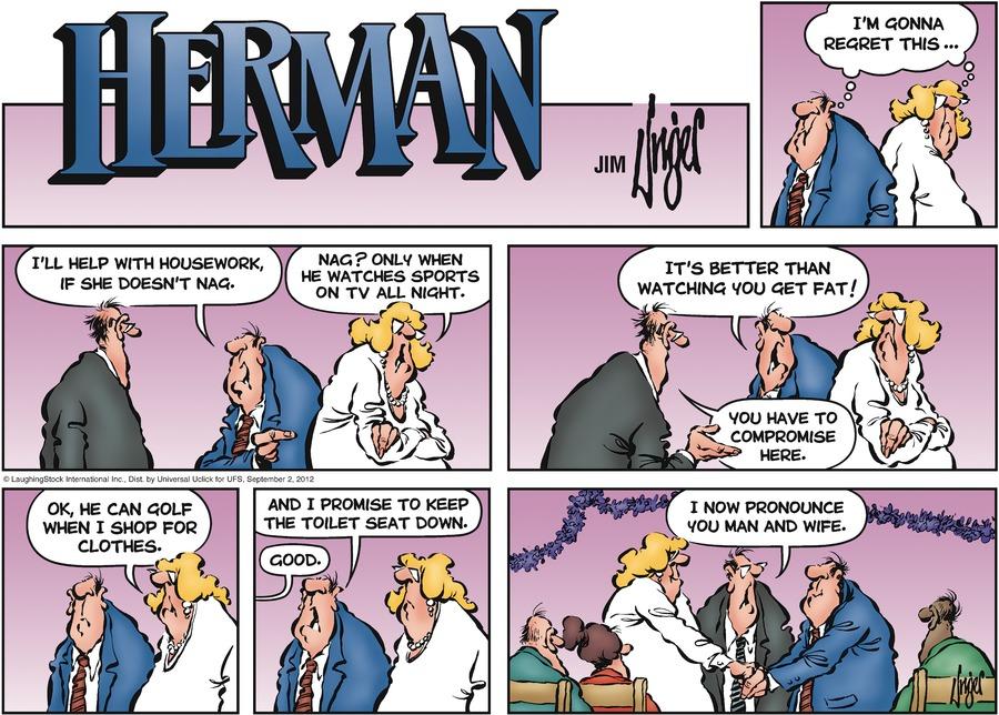 Herman for Sep 2, 2012 Comic Strip
