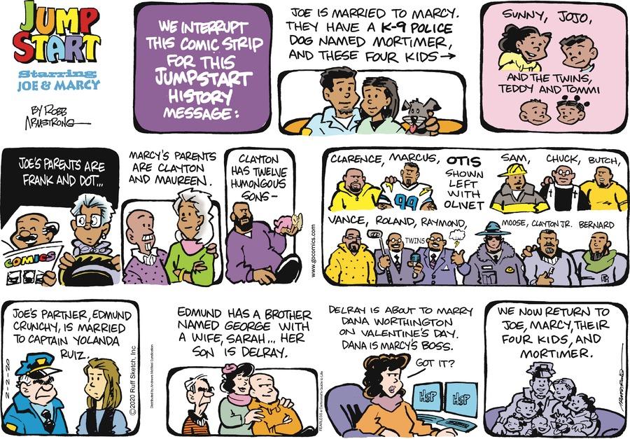 JumpStart Comic Strip for February 02, 2020