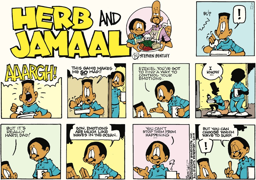 Herb and Jamaal by Stephen Bentley for May 12, 2019