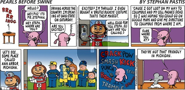 Pearls Before Swine on Sunday November 10, 2013 Comic Strip