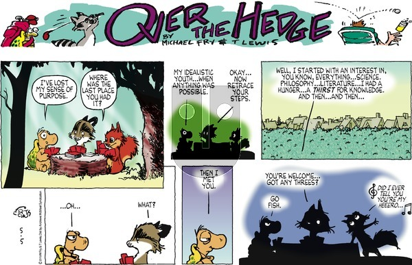 Over the Hedge on Sunday May 5, 2019 Comic Strip