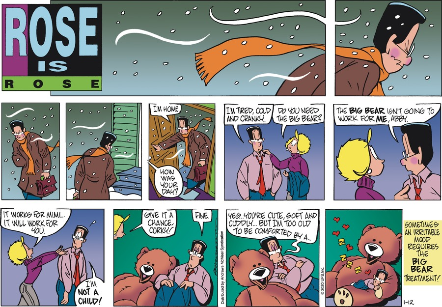 Rose is Rose Comic Strip for January 12, 2020