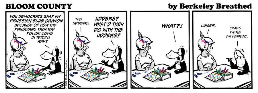 Bloom County 2019 by Berkeley Breathed for June 13, 2019