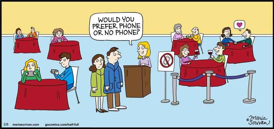 Half Full Comic Strip for March 08, 2015